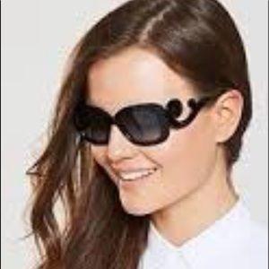 PRADA Havana square black & tortoise sunglasses